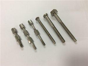 No.41-CNC ٹائٹینیم مشین حصہ بولٹ اور نٹ