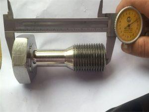 کسٹم CNC حصوں صحت سے متعلق مشینی سکرو فاسٹنر تبدیل کر دیا