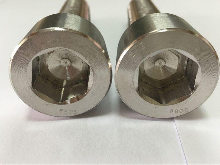 فاسٹنرز مینوفیکچررز DIN 6912 ٹائٹینیم ہیکساون ساکٹ ہیڈ بولٹ۔
