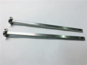 ہارڈ ویئر فاسٹنر سپلائر 316 سٹینلیس سٹیل فلیٹ سر مربع گردن din603 m4 کیریج بولٹ۔